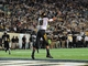 Oct 5, 2013; Nashville, TN, USA; Missouri Tigers tight end Eric Waters (81) catches a pass for a touchdown against the Vanderbilt Commodores during the first half at Vanderbilt Stadium. Mandatory Credit: Don McPeak-USA TODAY Sports