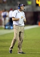Oct 5, 2013; Starkville, MS, USA; Mississippi State Bulldogs head coach Dan Mullen during the game against the LSU Tigers at Davis Wade Stadium.  LSU Tigers defeated the Mississippi State Bulldogs 59-26.  Mandatory Credit: Spruce Derden-USA TODAY Sports