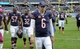 Oct 6, 2013; Chicago, IL, USA; Chicago Bears quarterback Jay Cutler (6) leaves the field after being beaten by New Orleans Saints 26-18 at Soldier Field. Mandatory Credit: Matt Marton-USA TODAY Sports