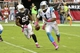 Oct 6, 2013; Phoenix, AZ, USA; Arizona Cardinals linebacker Daryl Washington (58) chases down and tackles Carolina Panthers quarterback Cam Newton (1) during the second half at University of Phoenix Stadium. Mandatory Credit: Matt Kartozian-USA TODAY Sports