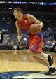 Oct 7, 2013; Minneapolis, MN, USA;  CSKA Moscow forward Victor Khryapa (31) drives to the basket in the second quarter against the Minnesota Timberwolves at Target Center. Mandatory Credit: Marilyn Indahl-USA TODAY Sports