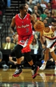 Oct 7, 2013; Portland, OR, USA; Los Angeles Clippers point guard Chris Paul (3) brings the ball up the court during the first quarter of the game against the Portland Trail Blazers at Moda Center. Mandatory Credit: Steve Dykes-USA TODAY Sports
