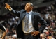 Oct 7, 2013; Portland, OR, USA; Los Angeles Clippers head coach Doc Rivers yells out to his team during the third quarter of the game against the Portland Trail Blazers at Moda Center. Mandatory Credit: Steve Dykes-USA TODAY Sports