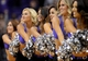 Oct 7, 2013; Phoenix, AZ, USA; Phoenix Suns cheerleaders perform in the game against Haifa at US Airways Center. The Suns defeated Haifa 130 to 89.  Mandatory Credit: Jennifer Stewart-USA TODAY Sports