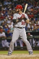 Sep 26, 2013; Arlington, TX, USA;  Los Angeles Angels designated hitter Josh Hamilton (32) bats during the game against the Texas Rangers at Rangers Ballpark in Arlington. Mandatory Credit: Kevin Jairaj-USA TODAY Sports