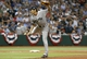 Oct 8, 2013; St. Petersburg, FL, USA; Boston Red Sox relief pitcher Koji Uehara (19) throws a pitch during the ninth inning against the Tampa Bay Rays of game four of the American League divisional series at Tropicana Field. Boston Red Sox defeated theTampa Bay Rays 3-1. Mandatory Credit: Kim Klement-USA TODAY Sports
