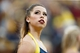 Oct 5, 2013; Ann Arbor, MI, USA; Michigan Wolverines dancer during the game against the Minnesota Golden Gophers at Michigan Stadium. Mandatory Credit: Rick Osentoski-USA TODAY Sports