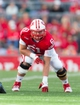 Sep 21, 2013; Madison, WI, USA;  Wisconsin Badgers offensive lineman Tyler Marz (61) during the game against the Purdue Boilermakers at Camp Randall Stadium. Wisconsin defeated Purdue 41-10.  Mandatory Credit: Jeff Hanisch-USA TODAY Sports