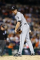 Sep 21, 2013; Detroit, MI, USA; Chicago White Sox relief pitcher Jake Petricka (68) checks the runner in the twelfth inning against the Detroit Tigers at Comerica Park. Detroit won 7-6 in twelve innings. Mandatory Credit: Rick Osentoski-USA TODAY Sports