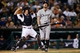 Sep 21, 2013; Detroit, MI, USA; Chicago White Sox second baseman Jeff Keppinger (7) walks back to the dugout after striking out against the Detroit Tigers at Comerica Park. Mandatory Credit: Rick Osentoski-USA TODAY Sports