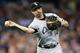 Sep 21, 2013; Detroit, MI, USA; Chicago White Sox first baseman Paul Konerko (14) makes a throw against the Detroit Tigers at Comerica Park. Mandatory Credit: Rick Osentoski-USA TODAY Sports