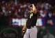Oct 9, 2013; St. Louis, MO, USA; Pittsburgh Pirates relief pitcher Justin Wilson (37) reacts after giving up a run to the St. Louis Cardinals in the sixth inning of game five of the National League divisional series playoff baseball game at Busch Stadium. Mandatory Credit: Scott Rovak-USA TODAY Sports