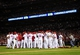Oct 9, 2013; St. Louis, MO, USA; The St. Louis Cardinals celebrate defeating the Pittsburgh Pirates in game five of the National League divisional series playoff baseball game at Busch Stadium. The Cardinals won 6-1. Mandatory Credit: Jeff Curry-USA TODAY Sports