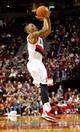 Oct 9, 2013; Portland, OR, USA; Portland Trail Blazers point guard Damian Lillard (0) shoots the ball against the Phoenix Suns at the Moda Center. Mandatory Credit: Craig Mitchelldyer-USA TODAY Sports