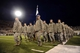 Oct 10, 2013; Colorado Springs, CO, USA; Air Force Falcons cadets march onto the field before the game against the San Diego State Aztecs at Falcon Stadium. Mandatory Credit: Ron Chenoy-USA TODAY Sports