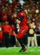 Oct 11, 2013; Cincinnati, OH, USA; Cincinnati Bearcats quarterback Brendon Kay (11) throws a pass during the first quarter against the Temple Owls at Nippert Stadium. Mandatory Credit: Andrew Weber-USA TODAY Sports