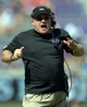 Oct 12, 2013; Fort Worth, TX, USA; TCU Horned Frogs coach Gary Patterson during the game against the Kansas Jayhawks at Amon G. Carter Stadium. Mandatory Credit: Kirby Lee-USA TODAY Sports