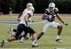 Oct 12, 2013; Durham, NC, USA; Duke Blue Devils wide receiver Issac Blakeney (17) runs against the Navy Midshipmen defense at Wallace Wade Stadium. Mandatory Credit: Mark Dolejs-USA TODAY Sports