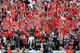 Oct 12, 2013; Athens, GA, USA; The Georgia Bulldogs student section during the game against the Missouri Tigers during the second half at Sanford Stadium. Missouri defeated Georgia 41-26. Mandatory Credit: Dale Zanine-USA TODAY Sports