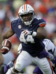 Oct 12, 2013; Auburn, AL, USA; Auburn Tigers running back Cameron Artis-Payne (44) carries against the Western Carolina Catamounts during the second half at Jordan Hare Stadium.  The Tigers beat the Catamounts 62-3.  Mandatory Credit: John Reed-USA TODAY Sports