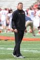 Oct 12, 2013; College Park, MD, USA;  Maryland Terrapins head coach Randy Edsall prior to the game against the Virginia Cavaliers at Byrd Stadium. Mandatory Credit: Mitch Stringer-USA TODAY Sports