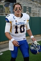 Oct 12, 2013; Fort Collins, CO, USA; San Jose State Spartans quarterback David Fales (10) following the game against the Colorado State Rams at Hughes Stadium. Mandatory Credit: Ron Chenoy-USA TODAY Sports