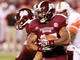 Oct 12, 2013; Starkville, MS, USA; Mississippi State Bulldogs running back LaDarious Perkins (27) carries the ball against the Bowling Green Falcons at Davis Wade Stadium. The Bulldogs defeated the Falcons 21-20. Mandatory Credit: Marvin Gentry-USA TODAY Sports