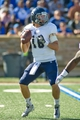 Oct 5, 2013; Tulsa, OK, USA; Rice Owls quarterback Taylor McHargue (16) looks to make a pass during a game against the Tulsa Hurricanes at Skelly Field at H.A. Chapman Stadium. Rice defeated Tulsa 30-27 in an overtime. Mandatory Credit: Beth Hall-USA TODAY Sports