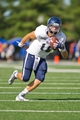 Oct 5, 2013; Tulsa, OK, USA; Rice Owls quarterback Taylor McHargue (16) runs with the ball during a game against the Tulsa Hurricanes at Skelly Field at H.A. Chapman Stadium. Rice defeated Tulsa 30-27 in an overtime. Mandatory Credit: Beth Hall-USA TODAY Sports