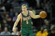 Oct 8, 2013; Milwaukee Bucks point guard Nate Wolters (6) during a game against the Cleveland Cavaliers at Quicken Loans Arena. Cleveland won 99-87. Mandatory Credit: David Richard-USA TODAY Sports