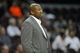 Oct 8, 2013; Cleveland Cavaliers head coach Mike Brown during a game against the Milwaukee Bucks at Quicken Loans Arena. Cleveland won 99-87. Mandatory Credit: David Richard-USA TODAY Sports