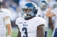 Oct 5, 2013; Tulsa, OK, USA; Rice Owls wide receiver Jawon Davis (3) looks to the sidelines during a game against the Tulsa Hurricanes at Skelly Field at H.A. Chapman Stadium. Rice defeated Tulsa 30-27 in an overtime. Mandatory Credit: Beth Hall-USA TODAY Sports