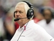 Oct 13, 2013; Houston, TX, USA; Houston Texans defensive coordinator Wade Phillips coaches against the St. Louis Rams during the second half at Reliant Stadium. The Rams won 38-13. Mandatory Credit: Thomas Campbell-USA TODAY Sports