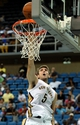Oct 13, 2013; Biloxi, MS, USA; New Orleans Pelicans center Jeff Withey (5) misses a dunk during the second half of their game against the Atlanta Hawks at the Mississippi Coast Coliseum. The Pelicans won 105-73. Mandatory Credit: Chuck Cook-USA TODAY Sports