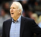 Oct 14, 2013; Denver, CO, USA; San Antonio Spurs head coach Gregg Popovich during the second half against the Denver Nuggets at Pepsi Center. The Nuggets won 98-94. Mandatory Credit: Chris Humphreys-USA TODAY Sports
