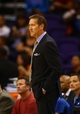 Oct 15, 2013; Phoenix, AZ, USA; Phoenix Suns head coach Jeff Hornacek against the Los Angeles Clippers at US Airways Center. Mandatory Credit: Mark J. Rebilas-USA TODAY Sports