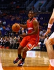 Oct 15, 2013; Phoenix, AZ, USA; Los Angeles Clippers guard Chris Paul drives to the basket against the Phoenix Suns at US Airways Center. Mandatory Credit: Mark J. Rebilas-USA TODAY Sports