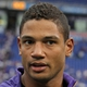 Oct 13, 2013; Minneapolis, MN, USA; Minnesota Vikings quarterback Josh Freeman (12) looks on following the game against the Carolina Panthers at Mall of America Field at H.H.H. Metrodome. The Panthers defeated the Vikings 35-10. Mandatory Credit: Brace Hemmelgarn-USA TODAY Sports