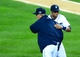 Oct 16, 2013; Detroit, MI, USA; Detroit Tigers manager Jim Leyland (10) hugs designated hitter Victor Martinez (41) after defeating the Boston Red Sox in game four of the American League Championship Series baseball game at Comerica Park. Detroit won 7-3. Mandatory Credit: Andrew Weber-USA TODAY Sports