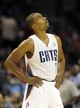 Oct 17, 2013; Charlotte, NC, USA; Charlotte Bobcats guard Ramon Sessions (7) during the pre season game against the Philadelphia 76ers at Time Warner Cable Arena. Mandatory Credit: Sam Sharpe-USA TODAY Sports