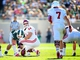 Oct 12, 2013; East Lansing, MI, USA; Indiana Hoosiers center Collin Rahrig (64) prepares to snap the ball to quarterback Nate Sudfeld (7) during the first half in a game against Michigan State Spartans at Spartan Stadium. Mandatory Credit: Mike Carter-USA TODAY Sports
