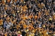 Oct 19, 2013; Columbia, MO, USA; Missouri Tigers fans and students imitate a gator clap during the second half of the game against the Florida Gators at Faurot Field. Missouri won 36-17. Mandatory Credit: Denny Medley-USA TODAY Sports
