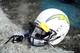 Oct 20, 2013; Jacksonville, FL, USA; San Diego Chargers helmet lays on the field after the game against the Jacksonville Jaguars at EverBank Field. Mandatory Credit: Melina Vastola-USA TODAY Sports