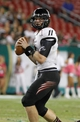 Oct 5, 2013; Tampa, FL, USA; Cincinnati Bearcats quarterback Brendon Kay (11) drops back against the South Florida Bulls during the second half at Raymond James Stadium. South Florida Bulls defeated the Cincinnati Bearcats 26-20. Mandatory Credit: Kim Klement-USA TODAY Sports