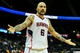 Oct 22, 2013; Atlanta, GA, USA; Atlanta Hawks power forward Pero Antic (6) reacts to a foul in the second half against the Indiana Pacers at Philips Arena. The Pacers won 107-89. Mandatory Credit: Daniel Shirey-USA TODAY Sports