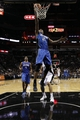 Oct 22, 2013; San Antonio, TX, USA; Orlando Magic forward Maurice Harkless (21) shoots against the San Antonio Spurs during the second half at AT&T Center. The Spurs won 123-101. Mandatory Credit: Soobum Im-USA TODAY Sports