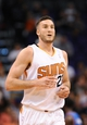 Oct 22, 2013; Phoenix, AZ, USA;Phoenix Suns forward Miles Plumlee (22) runs up the court during the game against the Oklahoma City Thunder at US Airways Center. The Suns defeated the Thunder 88 to 76. Mandatory Credit: Jennifer Stewart-USA TODAY Sports