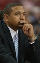 Oct 23, 2013; Sacramento, CA, USA; Golden State Warriors head coach Mark Jackson looks on during the first quarter of the game against the Sacramento Kings at Sleep Train Arena. Mandatory Credit: Ed Szczepanski-USA TODAY Sports