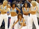 Oct 23, 2013; Denver, CO, USA; Denver Nuggets dancers perform in the fourth quarter of the game against the Phoenix Suns at the Pepsi Center. The Suns won 98-79. Mandatory Credit: Isaiah J. Downing-USA TODAY Sports