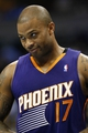 Oct 23, 2013; Denver, CO, USA; Phoenix Suns shooting guard P.J. Tucker (17) in the fourth quarter against the Denver Nuggets at the Pepsi Center. The Suns won 98-79. Mandatory Credit: Isaiah J. Downing-USA TODAY Sports